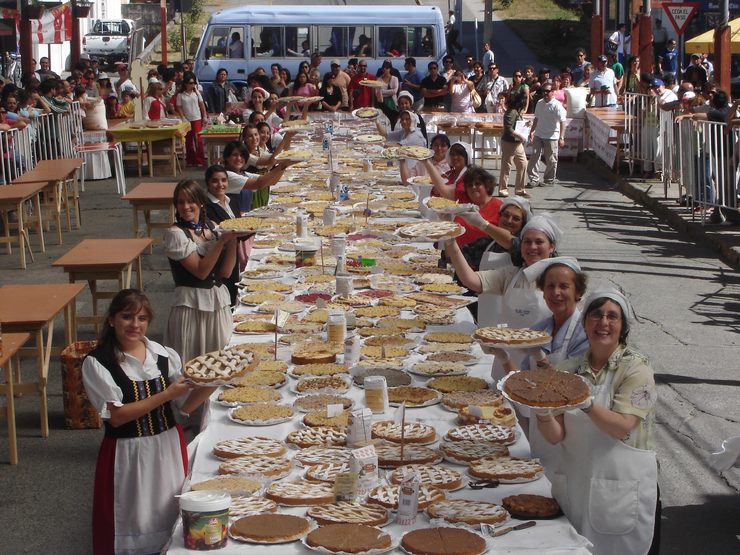 Tradición Dia del Kuchen Puerto Varas